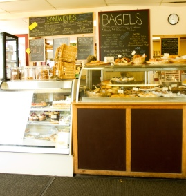 bakery case taken by joe chartier