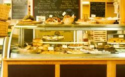 The bakery case. Taken by Joe Chartier