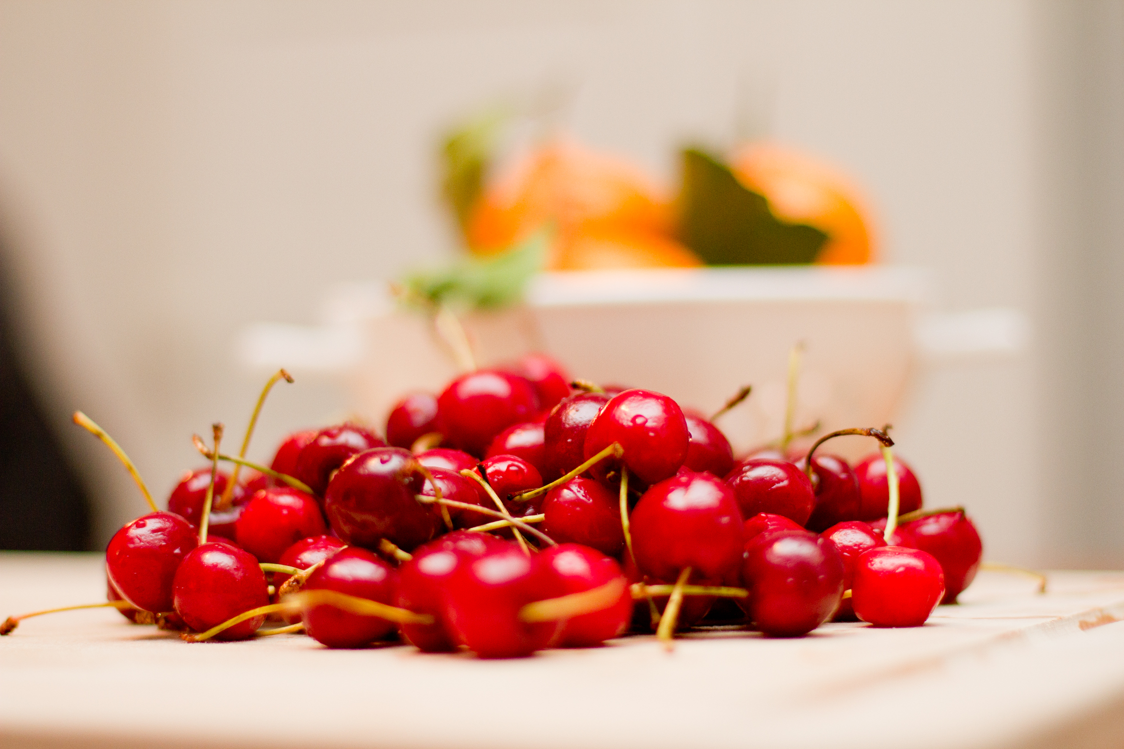 Bourbon Soaked Cherries. | The Things I Think About
