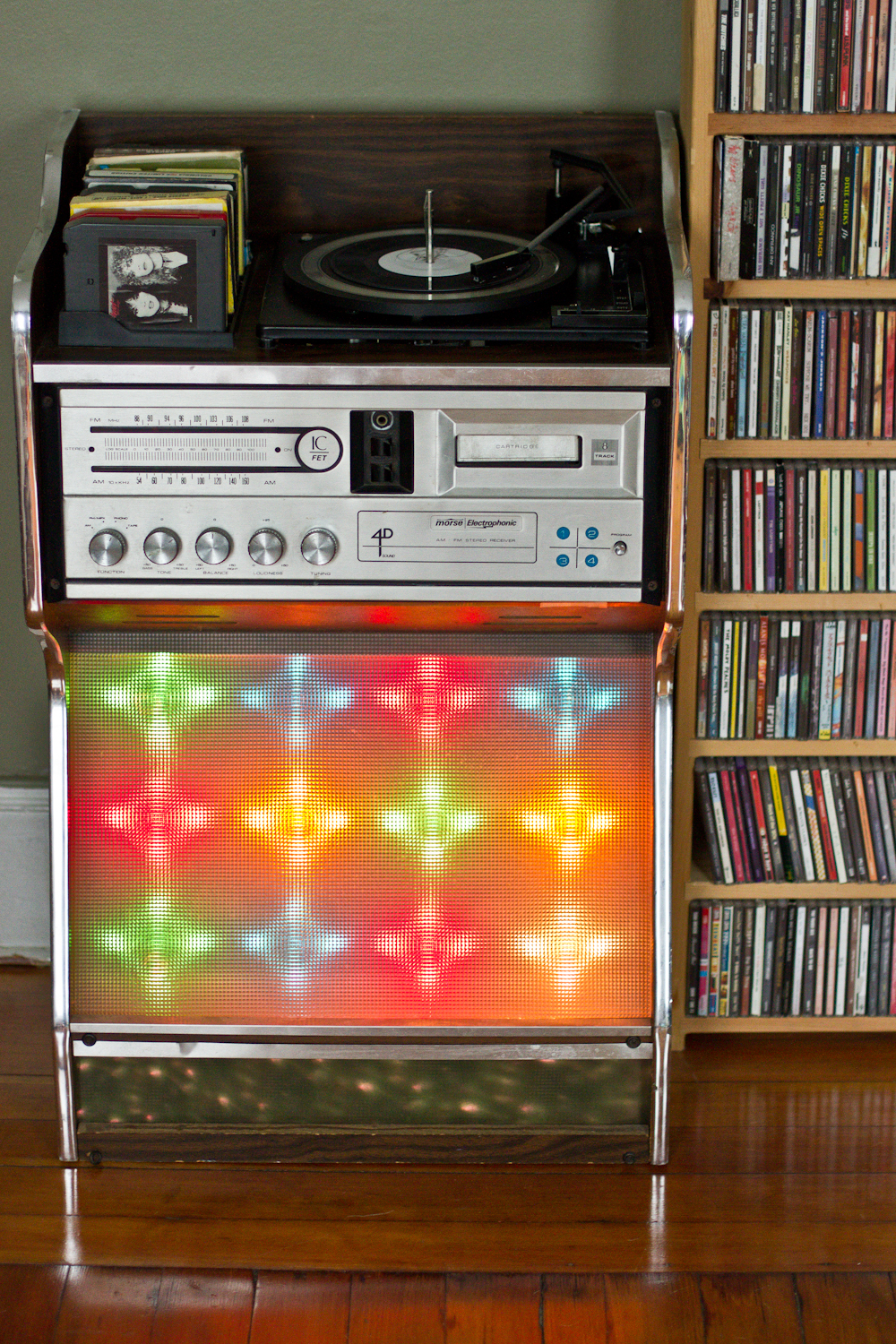 8 Track Player Console Lights